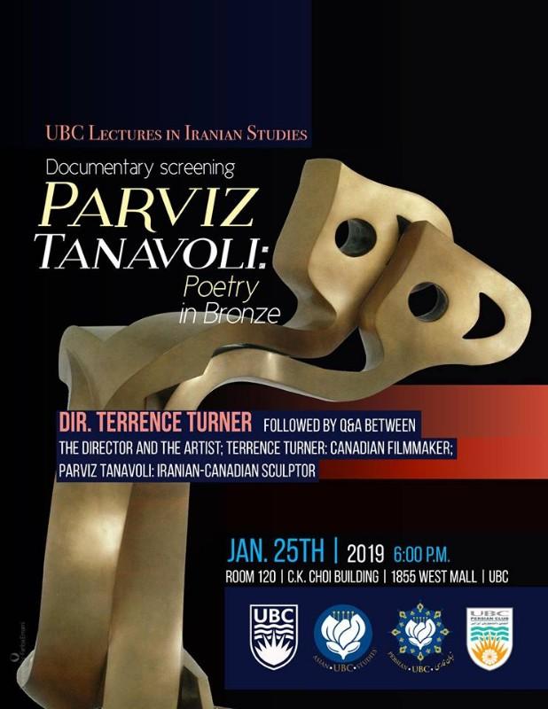 Parviz Tanavoli: Poetry in Bronze (Film Screening/Q&A)