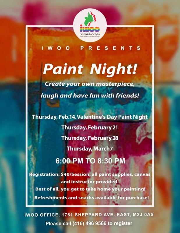 IWOO - Paint Night